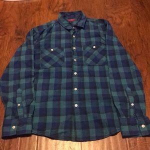 arizona jean long sleeve button up shirts